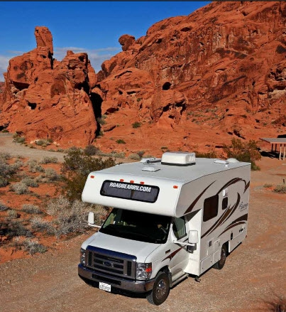 Arvy verhuurt Road Bear campers in Amerika