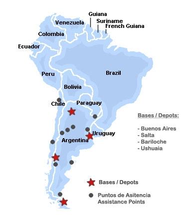 Mapa de MHT