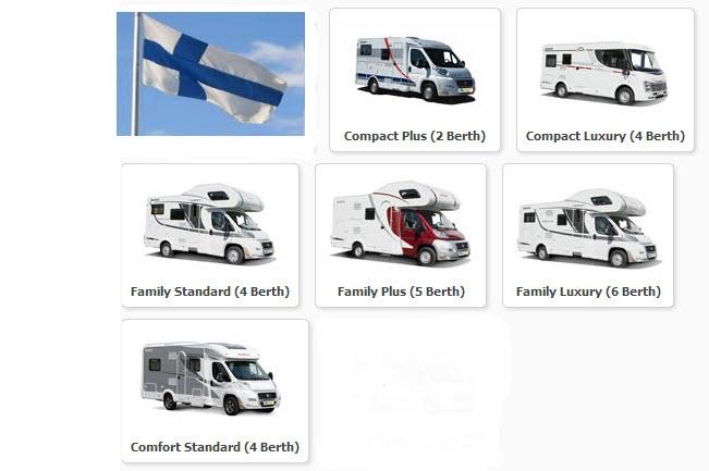 autocaravanas Finlandia