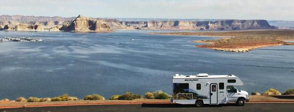 Cruise America camper